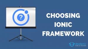 Ist Ionic immer die richtige Wahl?