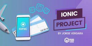 Ein großes Projekt mit Ionic erstellen