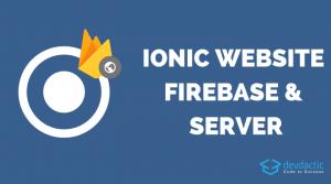 So hosten Sie Ihre Ionic-App als Website auf Firebase- und Standard-Webservern